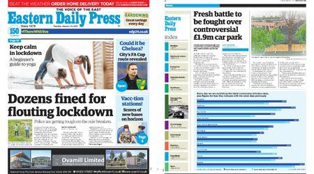Eastern Daily Press – January 12, 2021