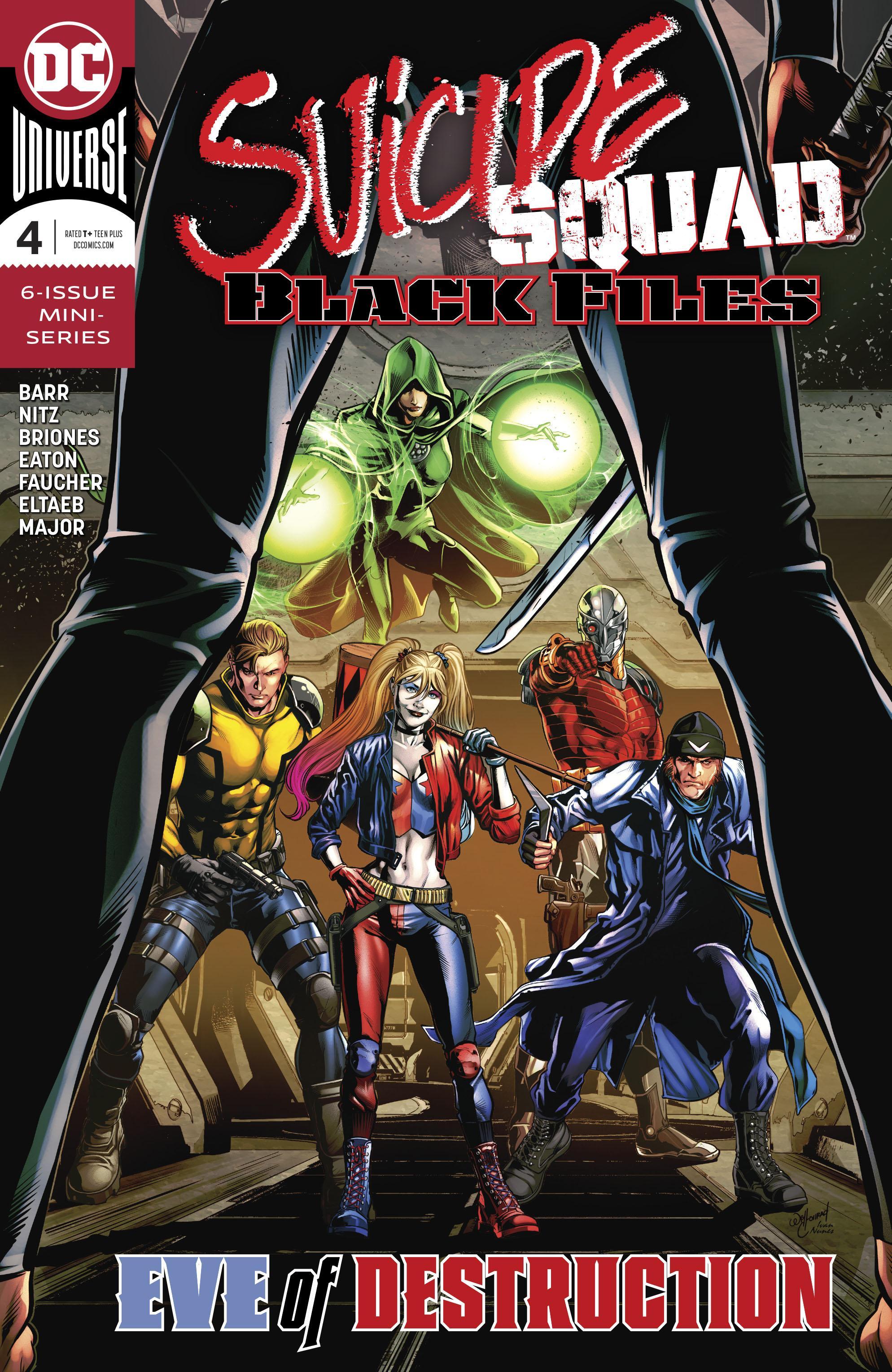 Suicide Squad Black Files 004 2019 Digital Thornn