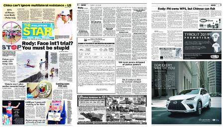 The Philippine Star – Hulyo 18, 2019