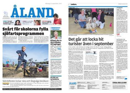 Ålandstidningen – 23 september 2019