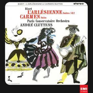 Andre Cluytens & Paris Conservatoire Orchestra - Bizet: L'Arlesienne & Carmen Suites (1964/2012) [Official 24-bit/96 kHz]