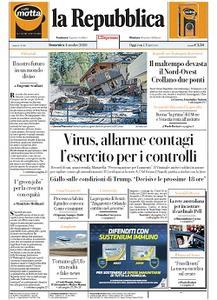 la Repubblica - 4 Ottobre 2020