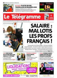 Le Télégramme Brest Abers Iroise – 16 septembre 2021