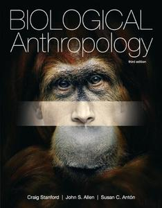 Biological Anthropology, 3rd Edition (repost)