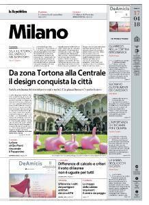 la Repubblica Milano - 17 Aprile 2018