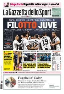 La Gazzetta dello Sport Roma – 04 marzo 2019
