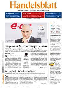 Handelsblatt - 04. August 2016