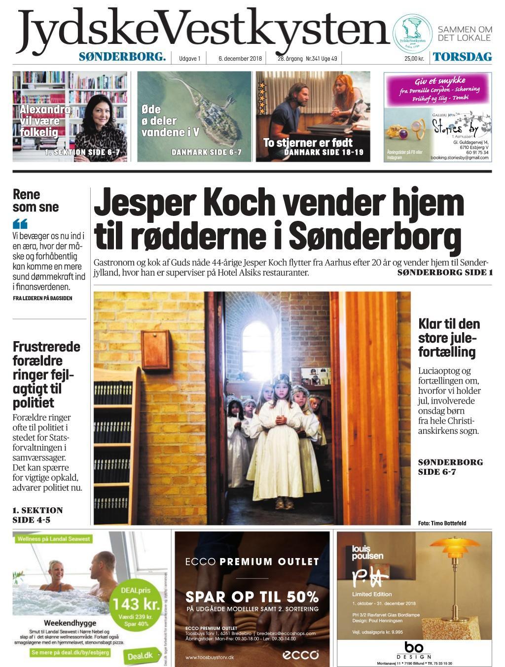 JydskeVestkysten Sønderborg – 06  december 2018 / AvaxHome