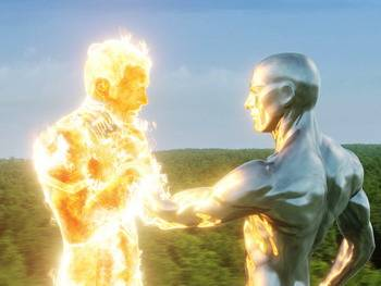 Fantastic Four: Rise of the Silver Surfer - Wallpapers