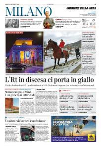 Corriere della Sera Milano – 12 dicembre 2020