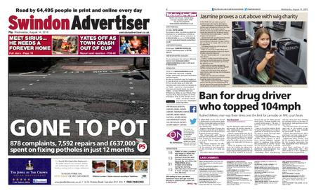 Swindon Advertiser – August 14, 2019