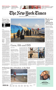 International New York Times - 04 September 2019