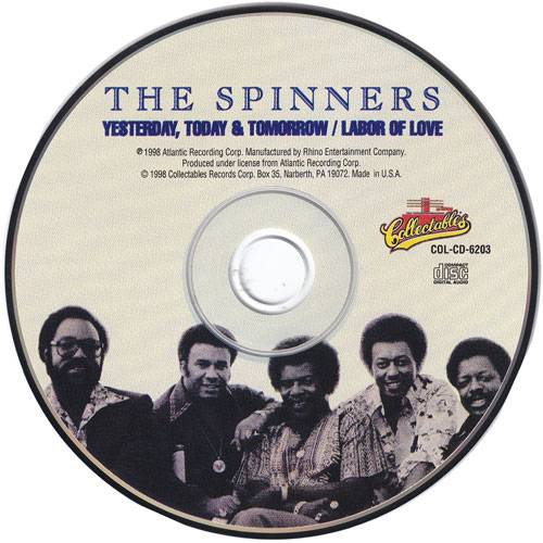 The Spinners - Yesterday, Today, & Tomorrow/Labor Of Love (1977/1981) {1998 Collectables}