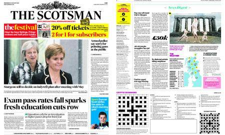 The Scotsman – August 08, 2018