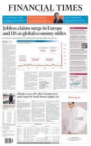 Financial Times Europe - April 3, 2020