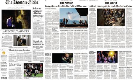 The Boston Globe – November 04, 2019