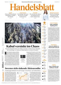 Handelsblatt - 17 August 2021
