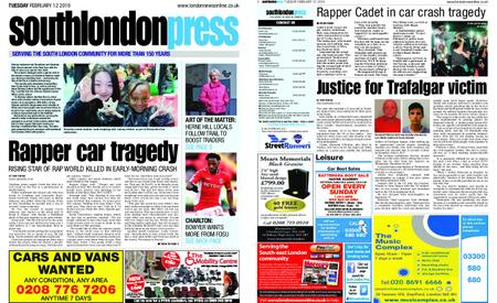 South London Press – February 12, 2019