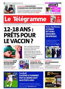 Le Télégramme Ouest Cornouaille – 14 juin 2021
