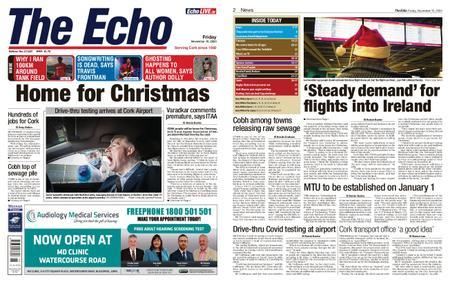Evening Echo – November 13, 2020