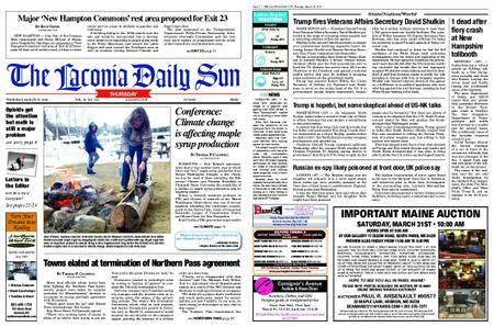 The Laconia Daily Sun – March 29, 2018