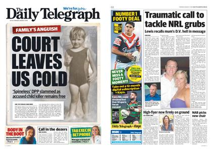 The Daily Telegraph (Sydney) – March 07, 2019