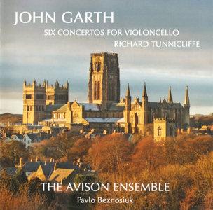 John Garth - Six Concertos for Violincello - Avison Ensemble/Tunnicliffe