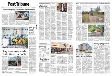 Post-Tribune – October 10, 2020