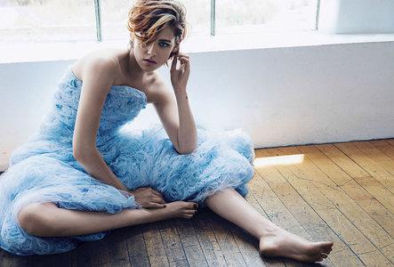 Kristen Stewart by Sebastian Kim for Vanity Fair France September 2014
