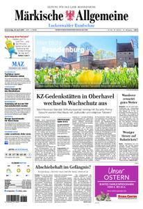 Märkische Allgemeine Luckenwalder Rundschau - 18. April 2019