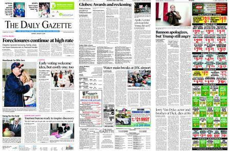 The Daily Gazette – January 08, 2018