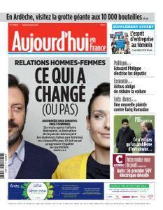 Aujourd'hui en France du Jeudi 8 Mars 2018