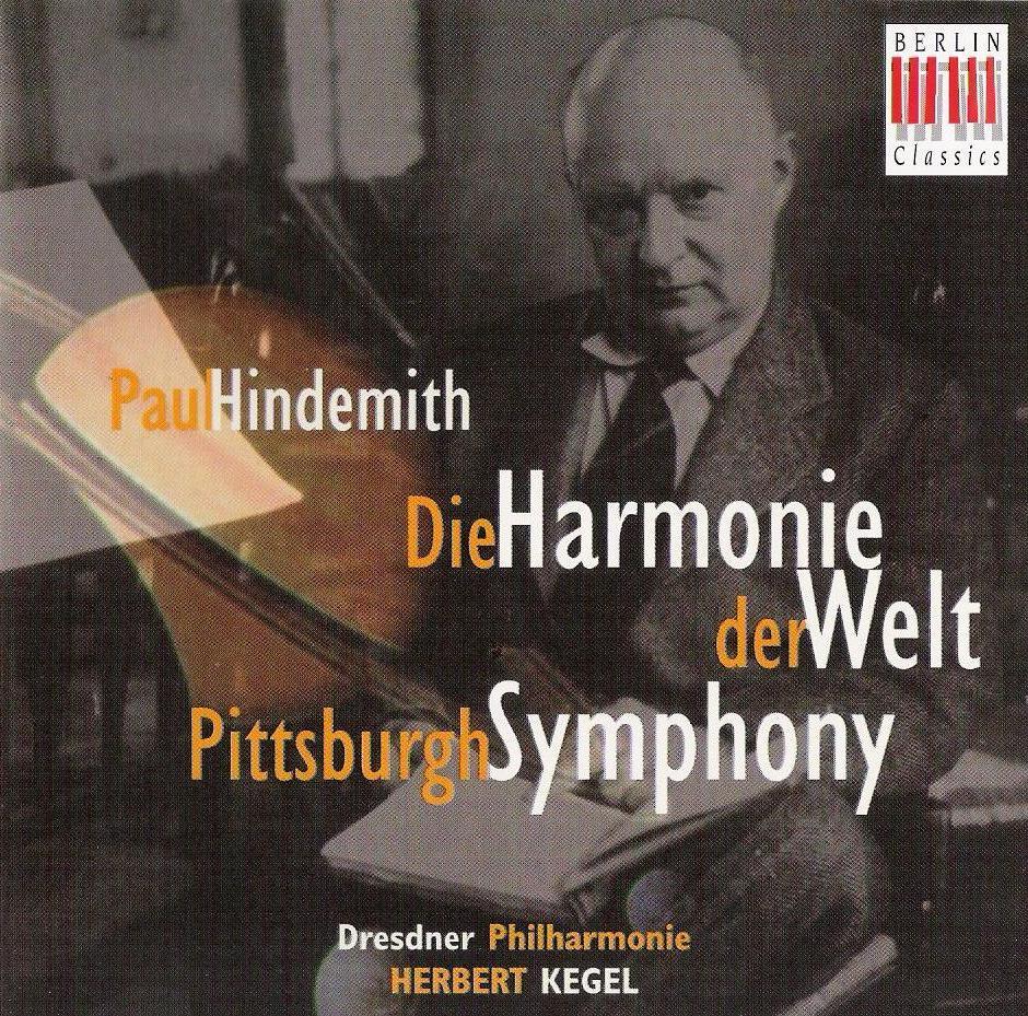 Paul Hindemith - Die Harmonie der Welt - Pittsburgh Symphony - Dresdner Philharmonie - Herbert Kegel