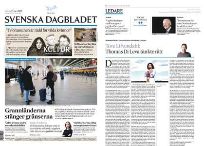 Svenska Dagbladet – 15 mars 2020