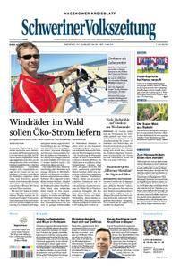 Schweriner Volkszeitung Hagenower Kreisblatt - 27. August 2018