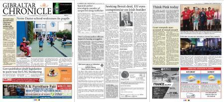 Gibraltar Chronicle – 05 October 2018