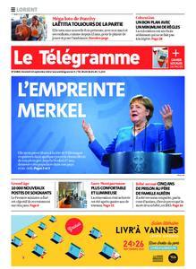 Le Télégramme Lorient – 24 septembre 2021