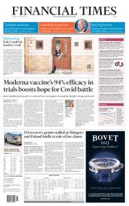 Financial Times Europe - November 17, 2020