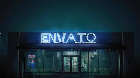 Epic Neon in The Street - Project for After Effects (VideoHive)