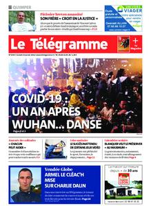 Le Télégramme Quimper – 23 janvier 2021