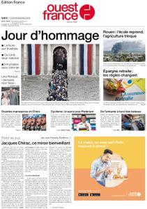 Ouest-France Édition France – 30 septembre 2019