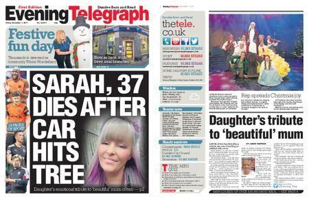 Evening Telegraph First Edition – December 01, 2017