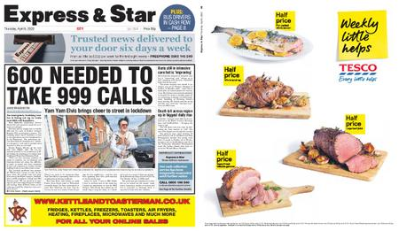 Express and Star City Edition – April 09, 2020