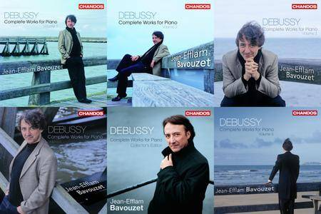 Jean-Efflam Bavouzet - Claude Debussy: Complete Works for Piano, Volumes 1-5 (2007-2009) 5CD [Re-Up]