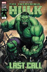 Incredible Hulk-Last Call 001 2019 GreenGiant
