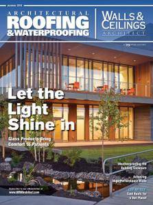 Architectural Roofing & Waterproofing-Walls & Ceilings Architect - Summer 2016
