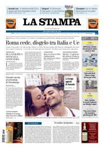La Stampa Torino Provincia e Canavese - 13 Dicembre 2018