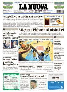 La Nuova Sardegna - 24 Aprile 2017