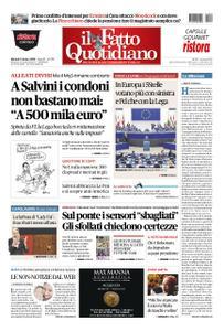 Il Fatto Quotidiano - 09 ottobre 2018