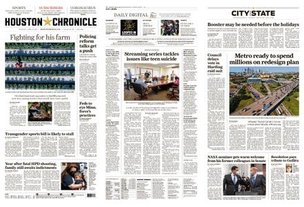 Houston Chronicle – April 22, 2021